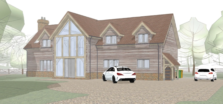 Backland Development Plans in Wokingham Countryside