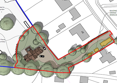 Backland Development in Wokingham Countryside