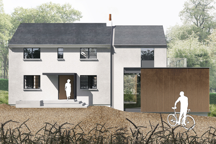 Planning Advice for Contemporary Extension in the Green Belt and AONB