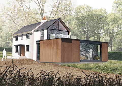 Contemporary Extension in the Green Belt and AONB