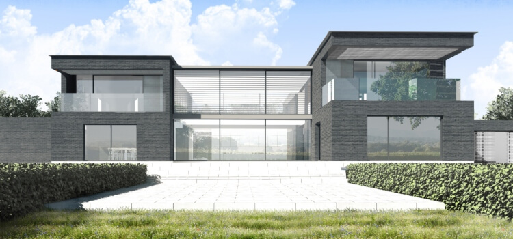 Contemporary House Plan in South Downs National Park
